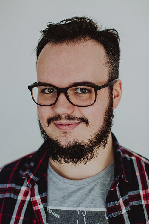 Operator kamery w SkyVideo - Michał Ganobczyk